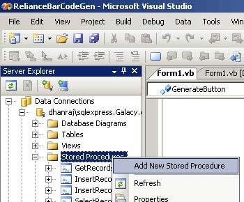 Calling Stored Procedures from ASP.NET and VB.NET