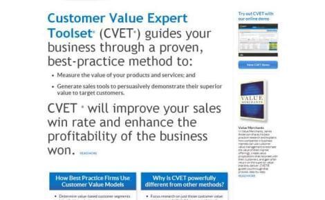 Customer Value Expert Toolset