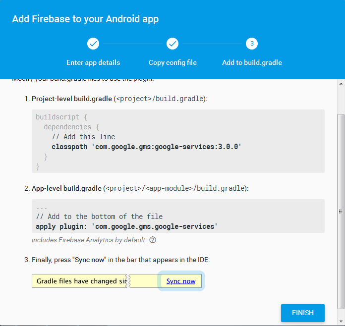 Integrating Firebase analytics with your mobile app.