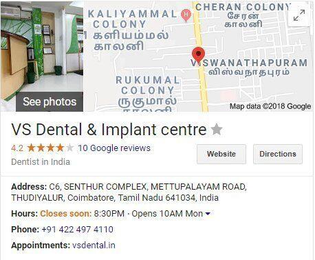 Google My Business VS Dental
